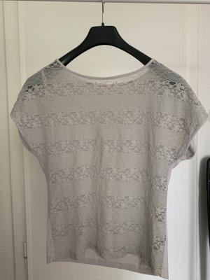 Orsay Camisa de malla gris