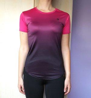 Sportshirt violet-lila Gemengd weefsel