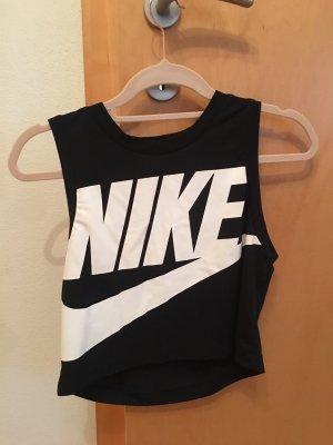 Nike T-shirt wit-zwart