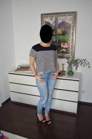 T-shirt, Strickshirt, Zara, Gr. 36