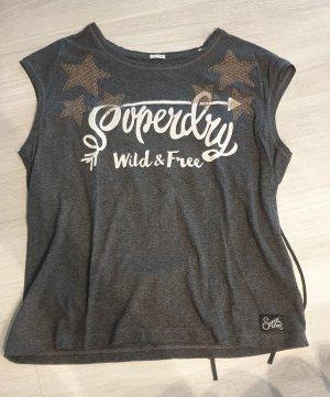 T-Shirt Superdry mit Fransen