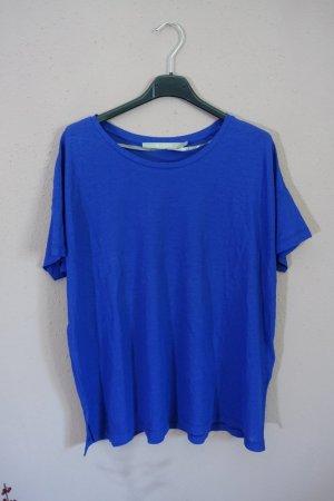 T-shirt, Tiger of Sweden, lässig, blau, wie neu