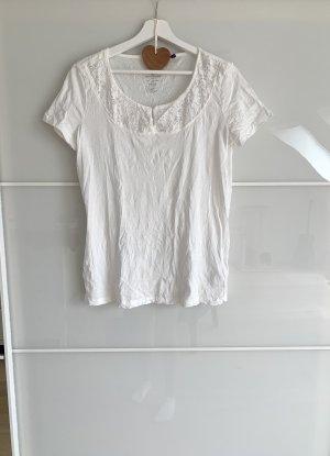 T Shirt Tom Tailor weiß