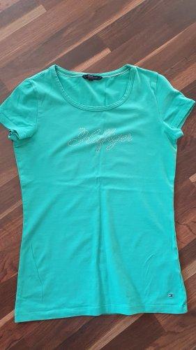T-Shirt Tommy Hilfiger Gr. S / 36 türkis