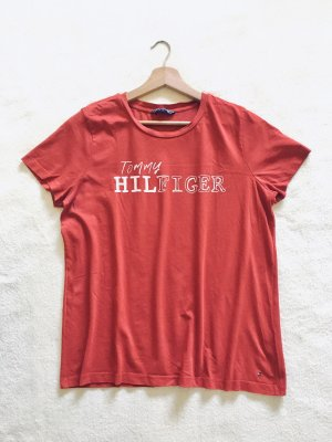 Tommy Hilfiger T-shirt bianco-rosso