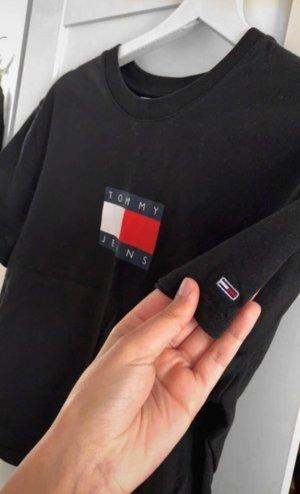 T-shirt Tommy Hilfiger tshirt Schwarz Neu