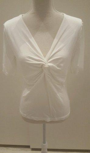 T-Shirt Top Boho Betty Barclay M 38 weiß