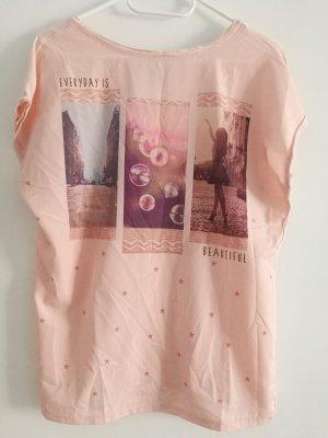 T - Shirt Top Hemd Bluse mit dem Ausdruck von Amisu