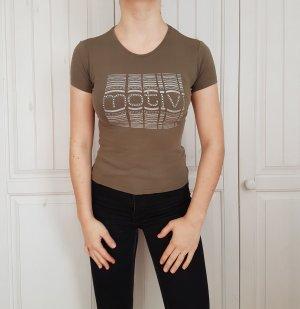 T-shirt tshirt shirt khaki crop top croptop Tanktop tank hemd bluse pulli pullover sweater hoodie