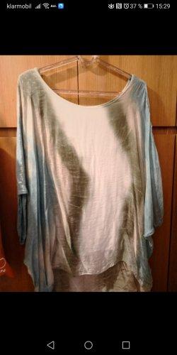 Unbekannte Marke Camisa tipo túnica multicolor