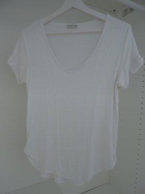 T-Shirt V-Ausschnitt Viskose Jersey