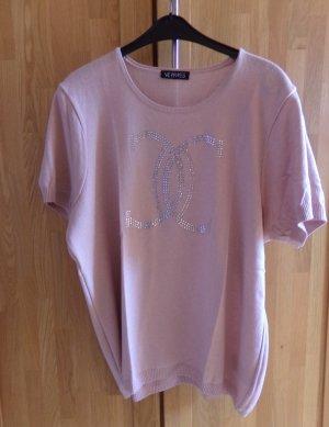 Verpass Camisa tejida rosa tejido mezclado