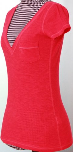 T-Shirt von Abercrombie & Fitch A&F in rot XS