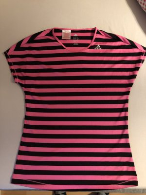 Adidas T-shirt noir-rose