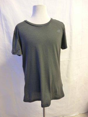 T-Shirt von Adidas in Anthrazit Gr. M Climatic Damen