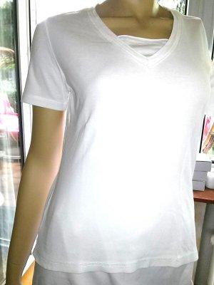 T-shirt von ambee- Gr38 - weiss
