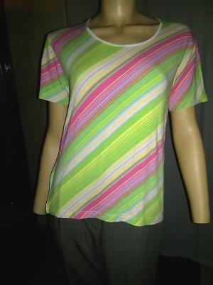 Ambee T-shirt veelkleurig Gemengd weefsel