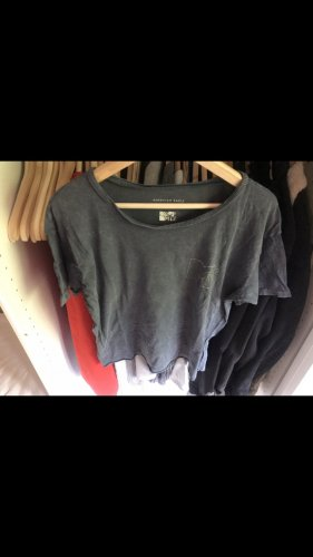 American Eagle Outfitters T-shirt gris ardoise