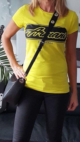 Armani T-Shirt yellow-black