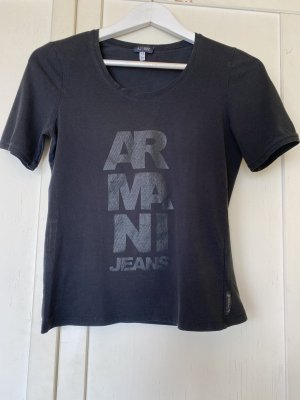 Armani T-shirt czarny