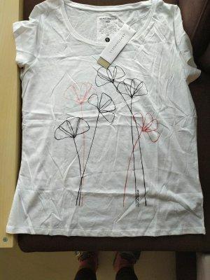 armedangels T-shirt wit Katoen