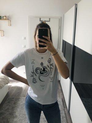 Asos T-Shirt black-white