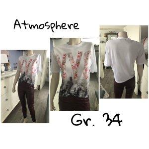 T-Shirt von Atmosphere Gr. 34