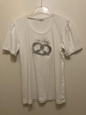 """T-Shirt von Balbina Aufdruck """" zum o'beissn"""""""