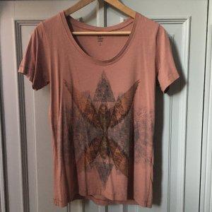 Becksöndergaard T-Shirt dusky pink cotton
