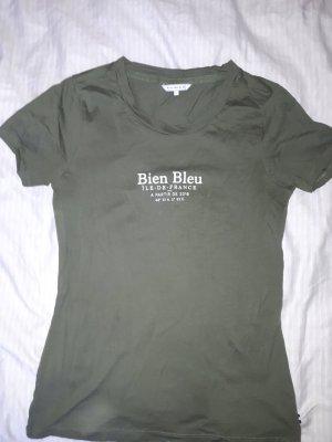 bien bleu T-Shirt khaki