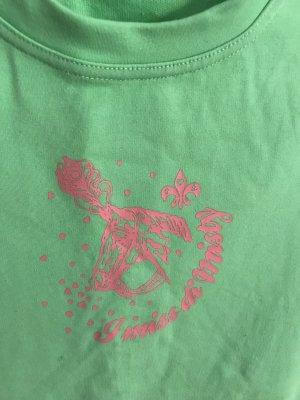 Blutsgeschwister Camiseta verde neón