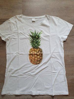 T-Shirt von BOSS by Hugo Boss mit Ananas Druck Gr. M