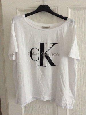 Calvin Klein Jeans T-shirt biały