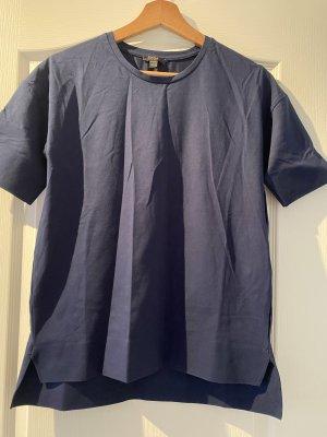 COS Camiseta azul oscuro