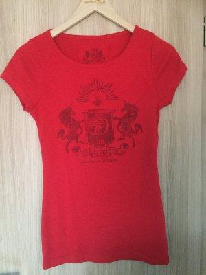 T-Shirt von der Marke Tom Tailor Denim in der Farbe Rot