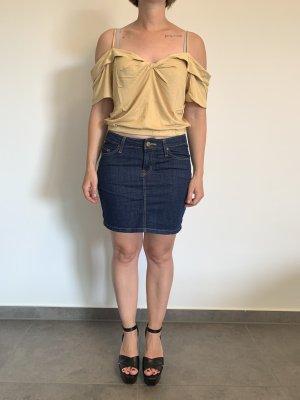 T-Shirt von Double Zero Gr. L gelb