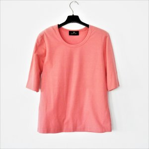 Eugen Klein T-Shirt salmon cotton
