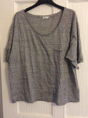 Filippa K T-shirt court gris
