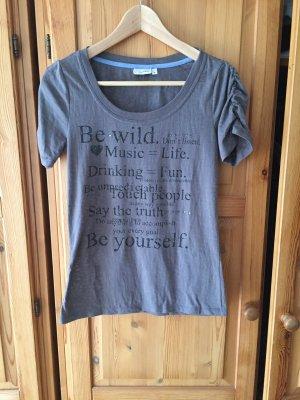 T-Shirt von Franca mit Raffung an den Ärmeln
