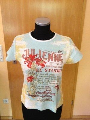 T-Shirt von Gina Benotti mit Gold-Nieten, Gr. S