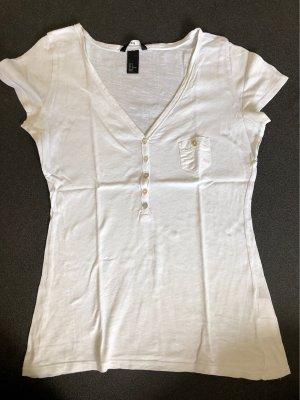 H&M T-shirt bianco