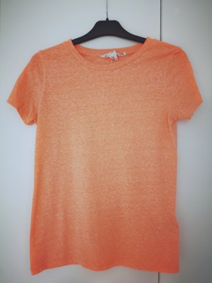 T Shirt von H&M in orange meliert Gr.XS