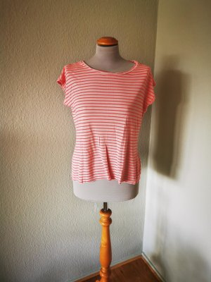 Hallhuber T-shirt brzoskwiniowy-łosowiowy Wiskoza