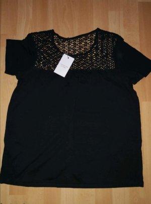 Jacqueline de Yong Gehaakt shirt zwart