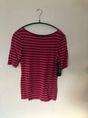 Marc Aurel T-shirt paars Viscose