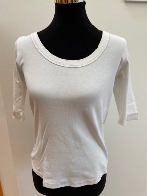 marc cain sports Ribbed Shirt white