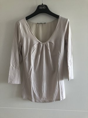 T-Shirt von MaxMara Weekend in Beige/Rosa 3/4 Arm