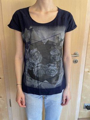 Mexx T-shirt bleu foncé-bleu