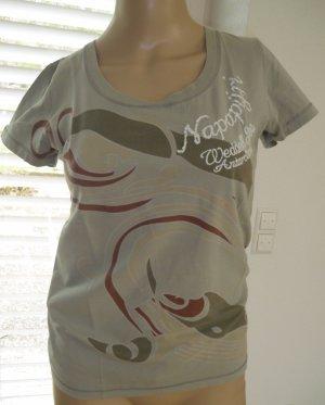 T-Shirt von Napapijri, Beige, Gr.M, (152-AE)