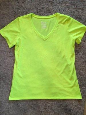 T-Shirt von Nike neongrün wie neu